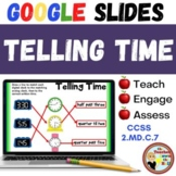 Telling Time - GOOGLE INTERACTIVE CLASSROOM!