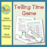 Telling Time Game to the Nearest 5 Minutes
