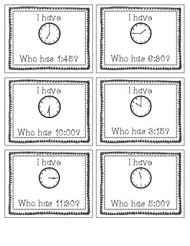 Telling Time Game!