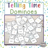 Telling Time Game Dominoes