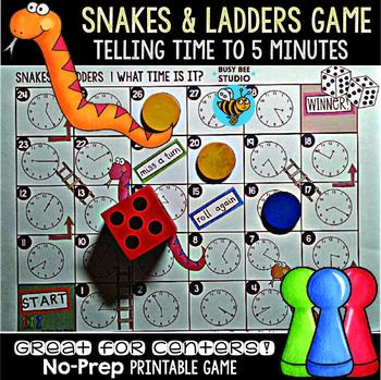 photograph relating to Telling Time Printable Game identify Telling Year Match Telling Period toward 5 Instant Snakes and Ladders Sport