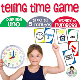 Telling Time Card Game *JR. EDITION