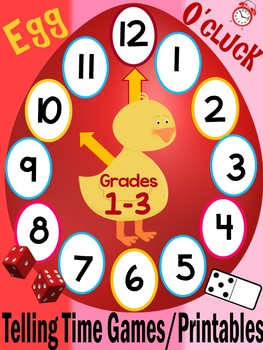 Telling Time Games With an Easter Theme
