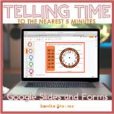 Telling Time Google Slides Distance Learning