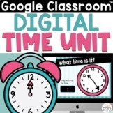 Telling Time Google Slides for 2nd Grade - Time to the 5 minutes