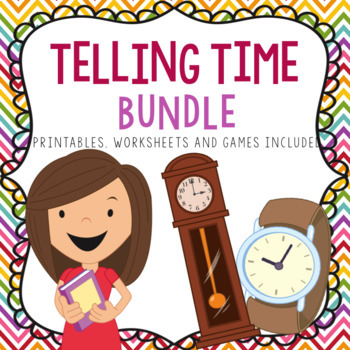 Telling Time Growing Bundle