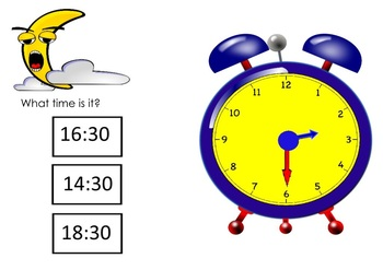 Telling Time: Half Hour