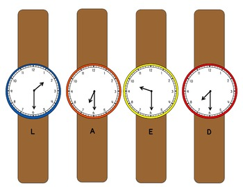 Telling Time Half-Hour Bundle