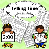 Telling Time: Hour, Half Hour, Quarters, Five Minute Inter