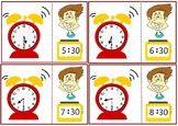 Telling Time- Half Hour Worksheets