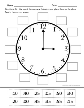 Telling Time {Hands on Activities for K-2nd}
