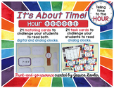Telling Time Hour Bundle