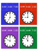Telling Time Hour Clip Task Cards