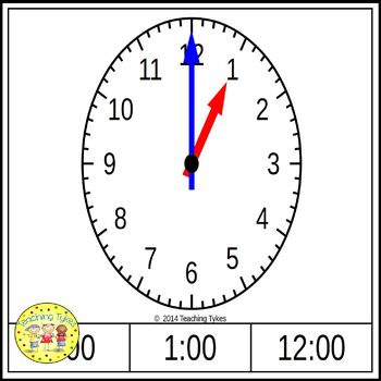 Telling Time to the Hour Bundle