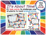 Telling Time Hour Task Cards