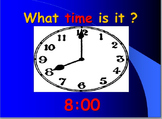 Telling Time: Hour and Half Hour