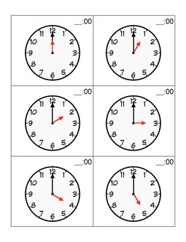 Telling Time - Hours