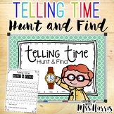 Telling Time Hunt and Find