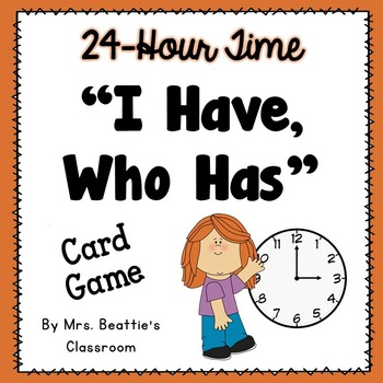 Telling Time - 24-Hour Time Game