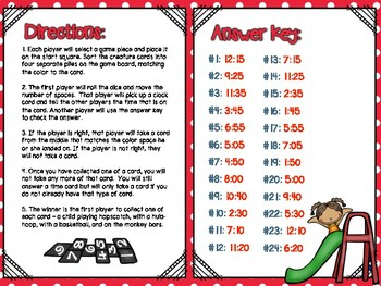 Time & Calendar Independent Center Game