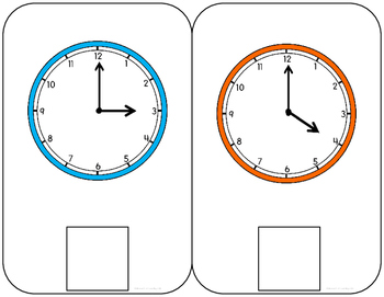 Telling Time Interactive Book: Time by the hour