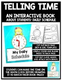 Telling Time Interactive Clock Book 1.MD.3 (Students' Dail