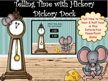 Telling Time Interactive PowerPoint Game