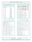 Telling Time Interactive Spanish Combo Worksheet-Google Apps