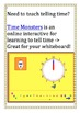 Telling Time Interactive Whiteboard Resource