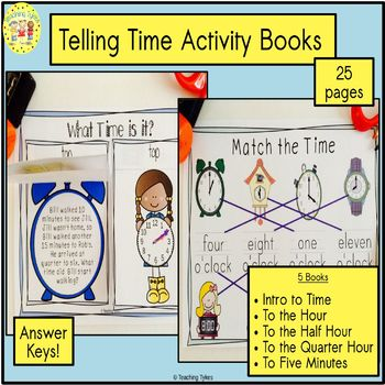 Telling Time Introduction Book