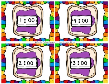 Telling Time - It's Peanut Butter Jelly Time