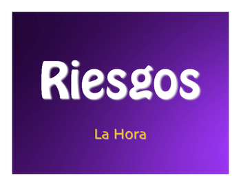 Spanish Telling Time Jeopardy-Style Review Game