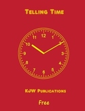 Telling Time -  KJW Publications -  11 pages -  pdf