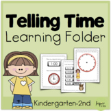 Telling Time Learning Folder