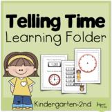 Telling Time Learning Folder