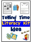 Telling Time Literacy Kit Idea