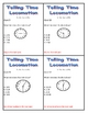 Telling Time Locomotion Game
