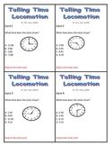 Telling Time Locomotion Game