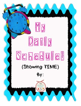 Telling Time! Make a Mini-book Schedule!