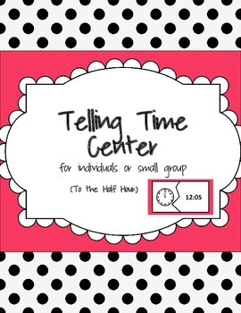 Telling Time Match