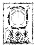 Telling Time Matching Puzzles (3 puzzles) by The Math Fanatic