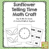 Distance Learning Telling Time Math Craft