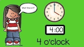 Distance Learning* Telling Time Common Core Easy Math Lessons for Home or School
