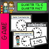 Telling Time Musical Chairs Game-Quarter To and Quarter Past