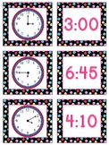 Telling Time to the Nearest 5 Minutes Games for Math Stations & Activities