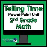 Telling Time Math Unit 2nd Grade Common Core