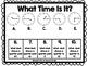 Telling Time Mats: Hour, Half-Hour, Quarter-Hour, Five Minutes