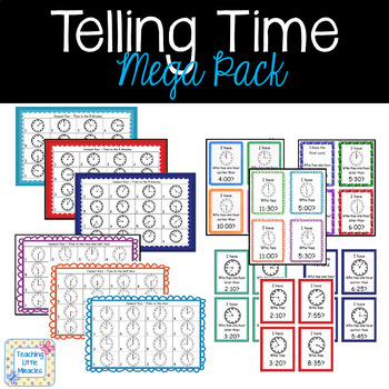 Telling Time Mega Pack!