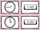 Telling Time: Memory Game