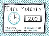 Telling Time: Memory Game